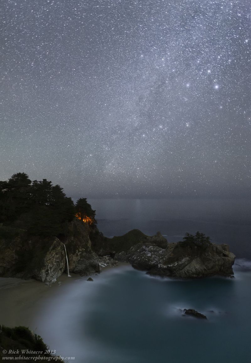 Camping Under the Stars- McWay Falls
