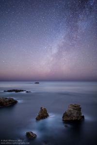 Milky Way and Sea Stacks